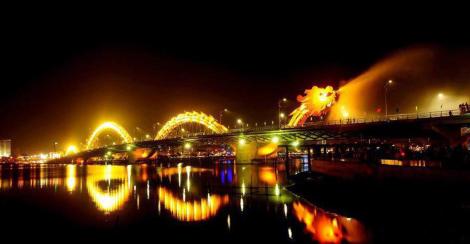 Dragon Bridge - Danang city - Hoian Private Car