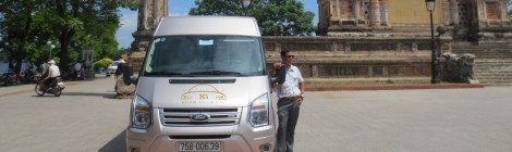 Mr Binh driver – Ford Transit – 16 seats – Car plate: 75B-00639