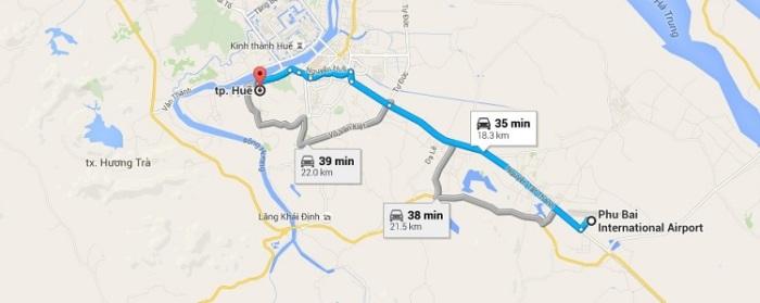 Phu Bai Airport Transfer by Private Car
