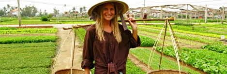 Be a farmer at Organic Garden Tra Que