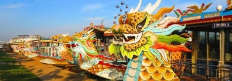Dragon boat trip