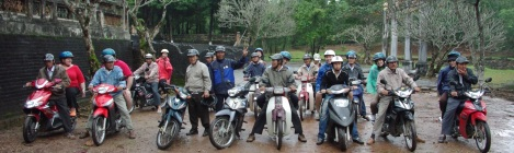 Hue motorbike tour-Hoian Private Car