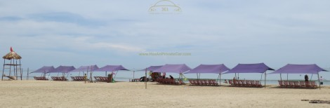 Feel relax at Lang Co Beach
