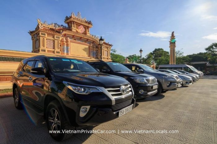 Dong Hoi to Hue by private car