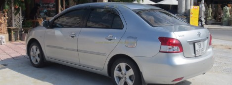 Toyta Vios - 4 seaters - Provided by Danang Private Taxi