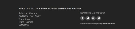 Roam Answer Travel Blog
