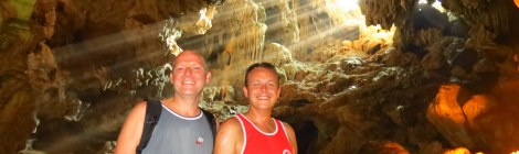 Thien Cung Cave, Halong Bay tour