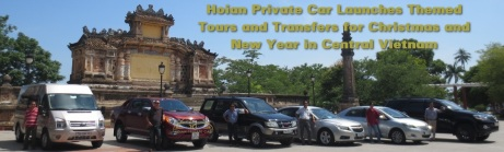 Hoian Private Car Press Release 2015 on Christmas & New Year 2016