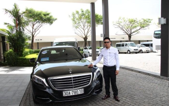 Danang VIP Car Charter - Mercedes Ben 2016 S550-Vietnam VIP Car